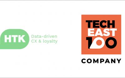 HTK Recognised as Leading Tech Company in TechEast100