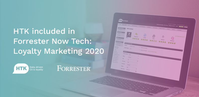 HTK Named in Forrester's Now Tech Loyalty Report