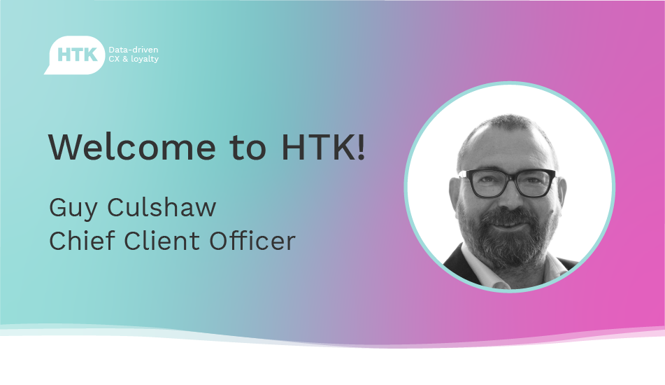Guy Culshaw joins the HTK team as Chief Client Officer