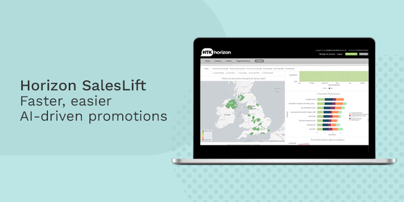 HTK helps brands deliver personalised promotions quicker & easier than the competition, with new AI-driven tool