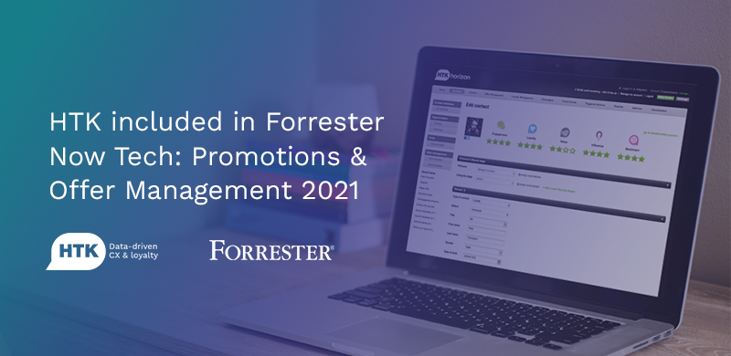 HTK Recognised in Forrester's Now Tech: Promotions and Offer Management Report